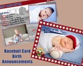 Birth Announcement - Rookie of the Year Baseball Card