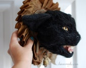 "SALE - ""Nightshade"" - OOAK Faux Taxidermy"