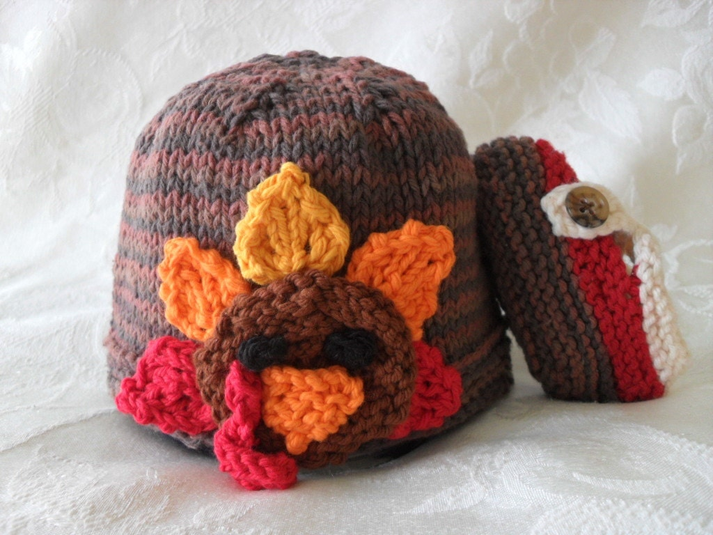 Knit Turkey Hat Pattern