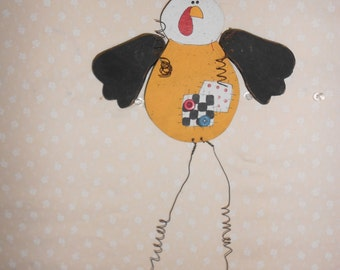 Funky Chicken Wall hanging