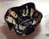 OOAK Pottery Bowl with Hatching Turtle by Makana Art Studio
