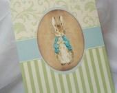 Peter Rabbit Vintage Baby Shower Invitation Set - Sample