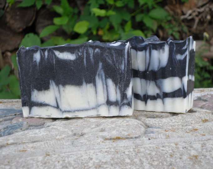 Featured listing image: Activated Charcoal Soap, Unscented, Natural and Organic.  Stocking Stuffer