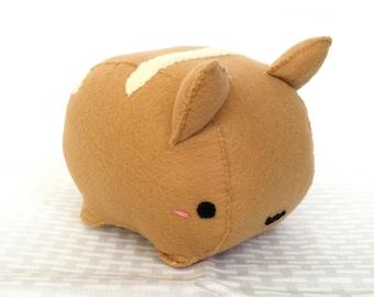 Kitty Bread Roll Plush