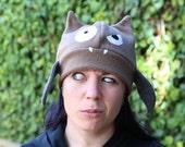 Bat Hat Crazy Fleece Hat