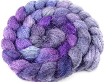 Baby Alpaca Combed Top - Purple Haze