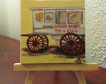 Roman Candy Cart