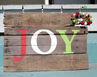 Joy Handmade Pallet Board Joy Pallet Sign Handmade Pallet