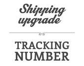 International Tracked Shipping Upgrade