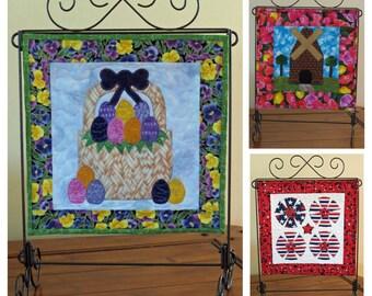 Second Seasonal Trio - mini quilt pattern QCP-102