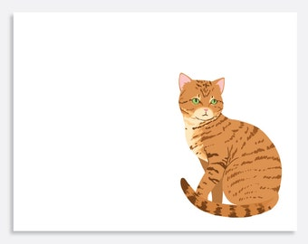 Set of Tabby Note Cards