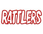 Rattlers Embroidery Machine Applique Design 4077