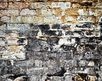 Wall of Silence - Deteriorated Surface Series Fine Art Photo Print - Gallery Quality Wall Art in Various Sizes and Mounting Options