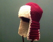 Bomber hat, ear flap hat, womens, pilot hat, lumberjack, spring, fall, winter, purple,earflap hat, beanie