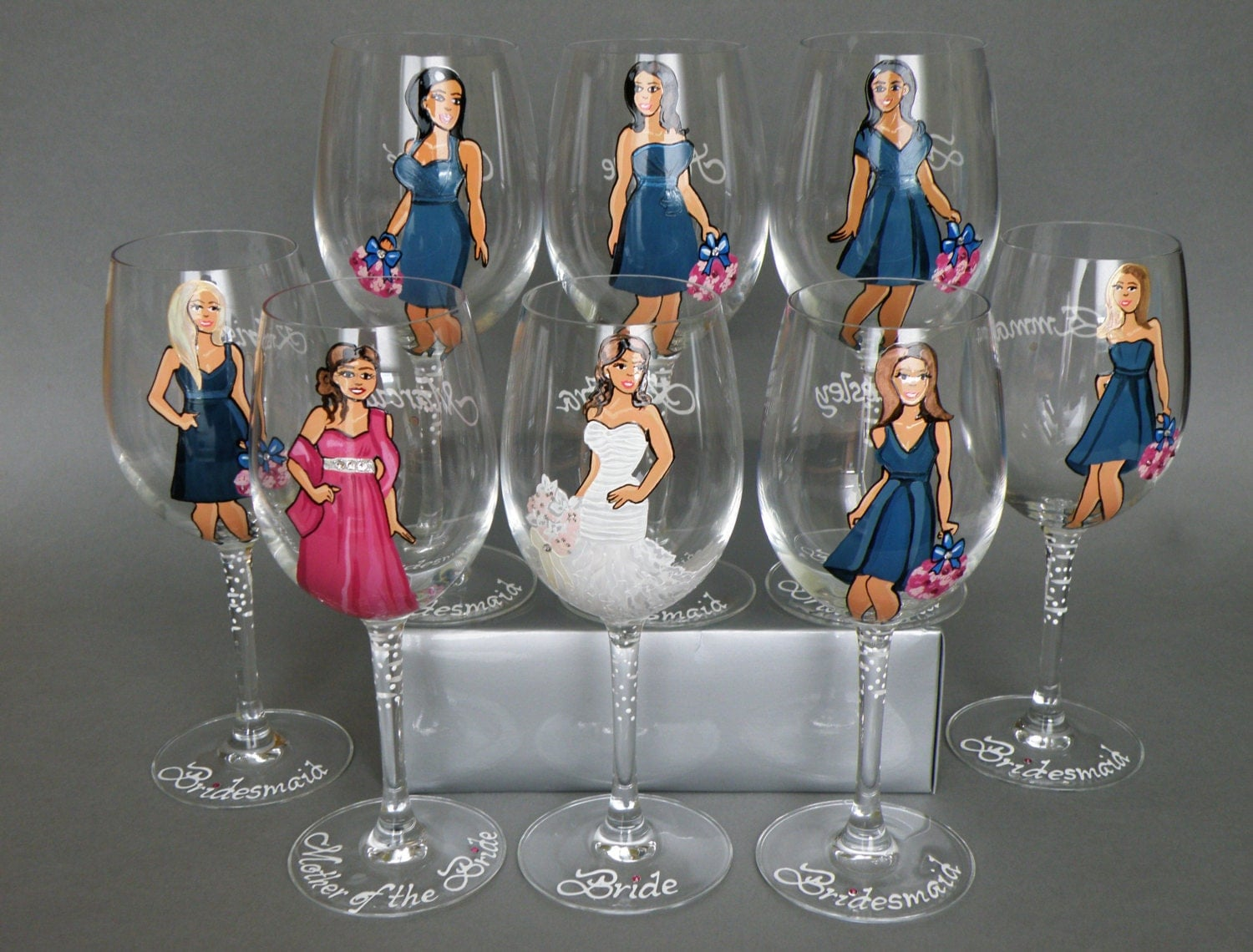 Wedding Party Gifts For Bridesmaids: Bridal Shower Party Bachelorette Party Bridesmaid Gifts