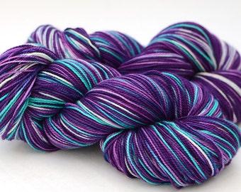 Hand Dyed Superwash Merino Sock Yarn - 100g