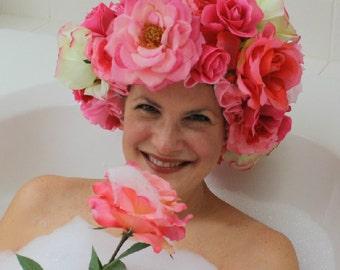 Custom Shower Caps for Annette