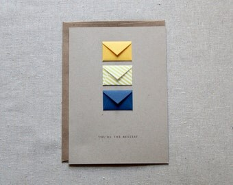 You're the Bestest - Tiny Envelopes Card