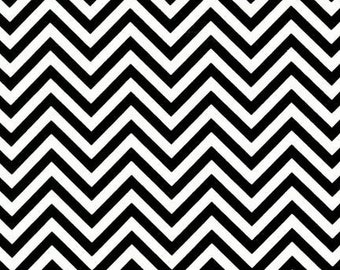Remix colors by Ann Kelle and Robert Kaufman, Zig Zag/Chevron in Black, End Of bolt