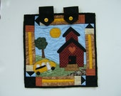 A  Back To School Miniature Wall Hanging