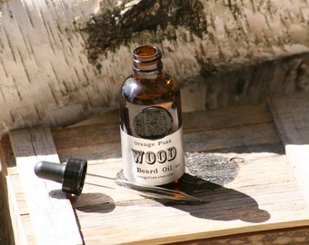 All Natural Wood Beard Oil