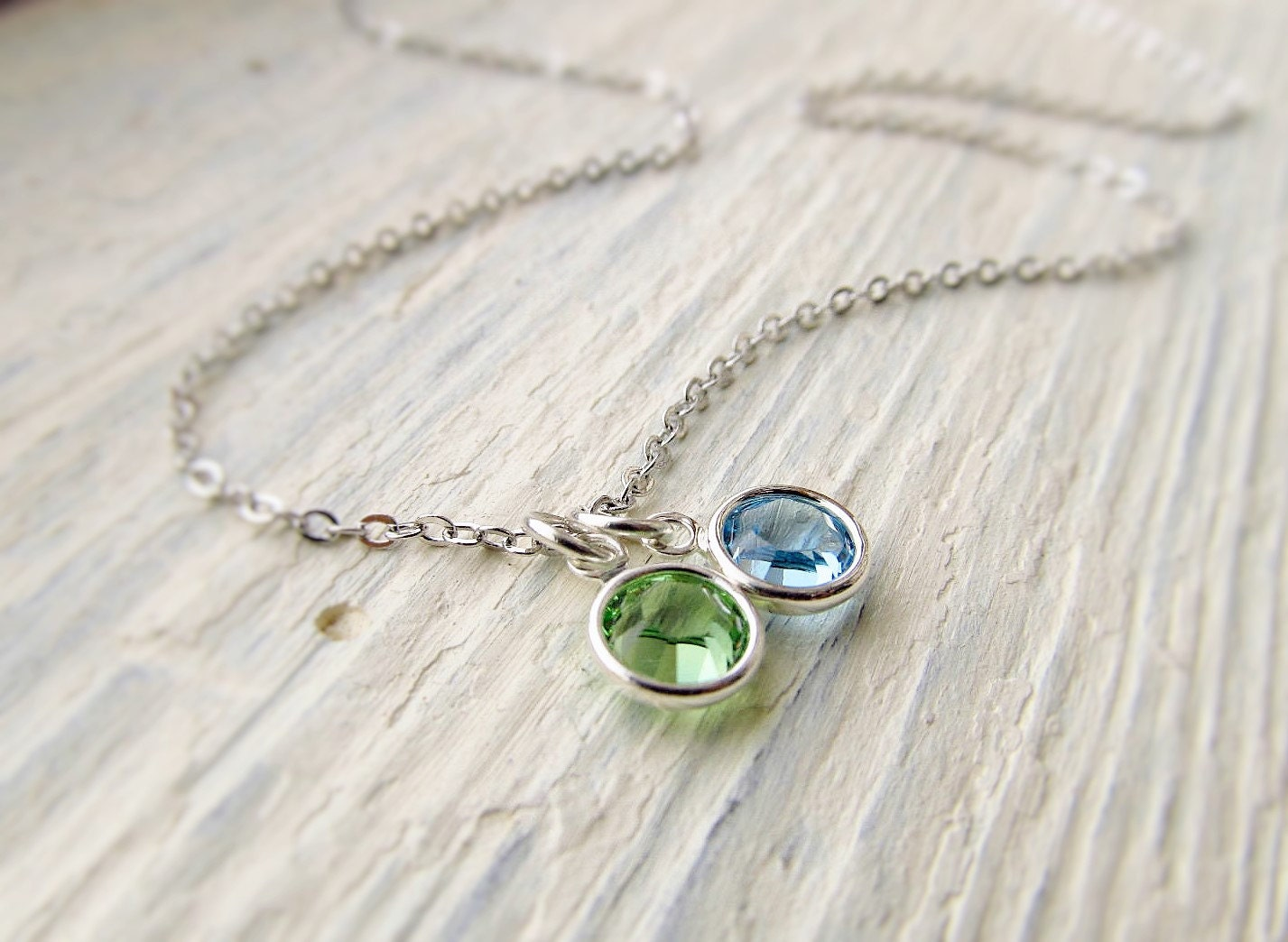 Mother Birthstone Necklace Mom Jewelry Mothers Jewelry