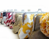 Bridesmaids Gifts Wedding Party Purses Custom Bags Clutches by Lolis Creations