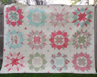 Vintage Modern Swoon Quilt