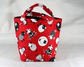 Bucket Bag for Knitting or Crochet Project