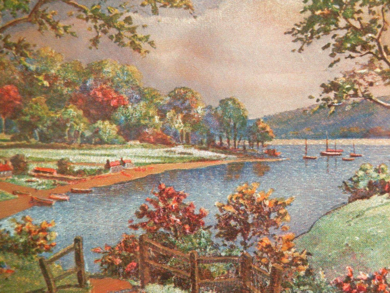 Kitsch foil art landscape print hitchin herts by for Artworks landscape ltd