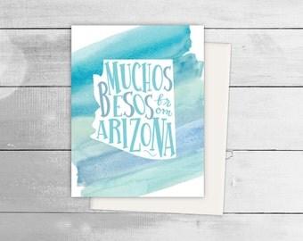 Muchos Besos from Arizona