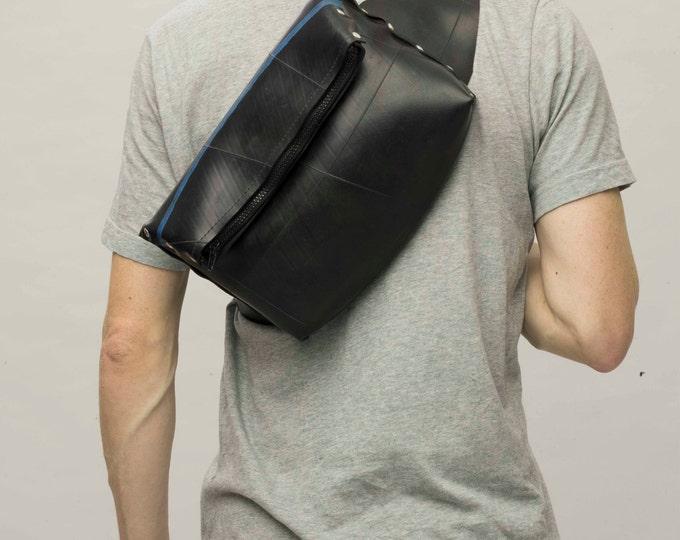Bike Bag: Upcycled Innertube waterproof for tablet.