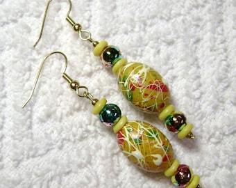Lemon Yellow Passion Earrings - Earrings - Yellow - Lemon Yellow - Jewelry - E-93