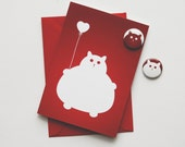 Birthday Card, Cat Birthday Card, Card from Cat Lover, Kitty Card, Cat lovers gift