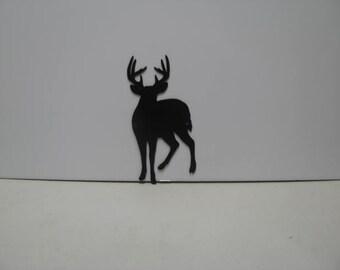 Buck Deer 17 WIldlife Metal Wall Yard Art