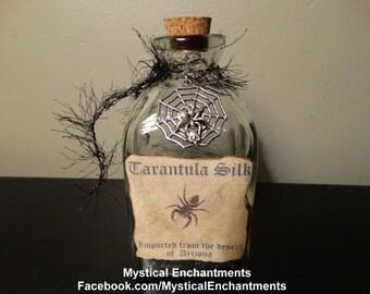 Tarantula Silk Glass Bottle