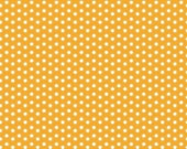 Ark Dot Orange Fabric from the Little Ark Collection by Carina Gardner for Riley Blake
