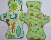 Woodland Animals--9 Inch Cloth Pad set