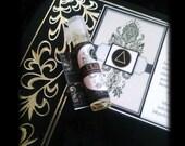 FUEGO  Fire Elemental Alchemy Natural Botanical Perfume Oil  Sample Vial