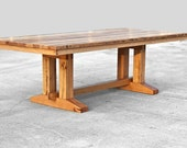 Barnwood Dining Table - Reclaimed Wood Table - Custom Furniture - Modern Hardwood Table - Made in the USA - Customized - Salvaged Wood