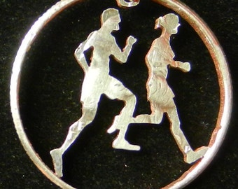 Joggers Hand Cut Coin Jewelry