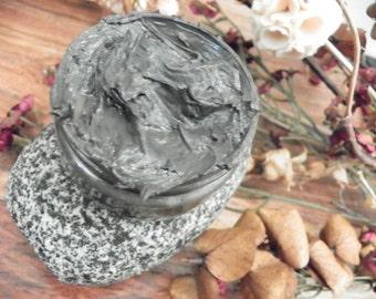 Sale! Black Mud....Organic Sea Mineral Mud Clay Mask....