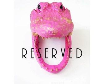 Reserved Custom Order // Antelope Deposit for MARIA
