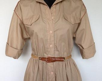 High Fashion Safari Girl Vintage Cotton Onesie