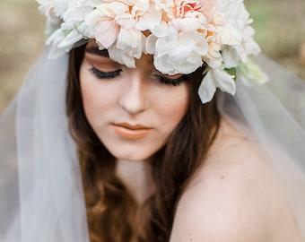 Florianne flower halo, #H901