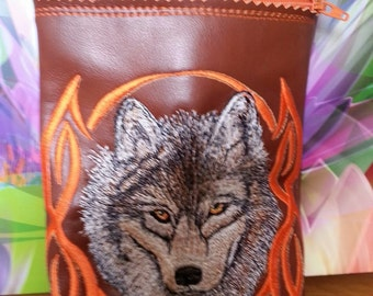 Wolf head kindle fire tablet case
