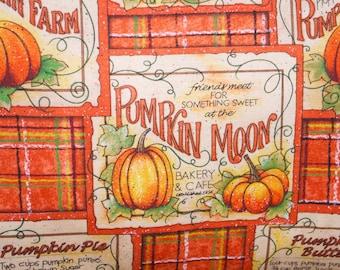 Decorative Fall Pumpkin Halloween Pillow, Toss Pillow, Accent Pillow, Throw Pillow, Pillowcase, Pillow cover - Fits 12x16 inch form