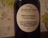 Calming Witch Hazel Facial Toner Spray