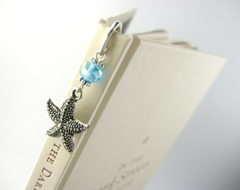 Beach Bookmark - Starfish Bookmark - Starfish Gift - Nautical Wedding Guest Book Mark - Nautical Bookmark - Ocean Bookmark