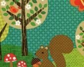 Norwegian Woods Nuts for Dinner - Michael Miller - Fat Quarter
